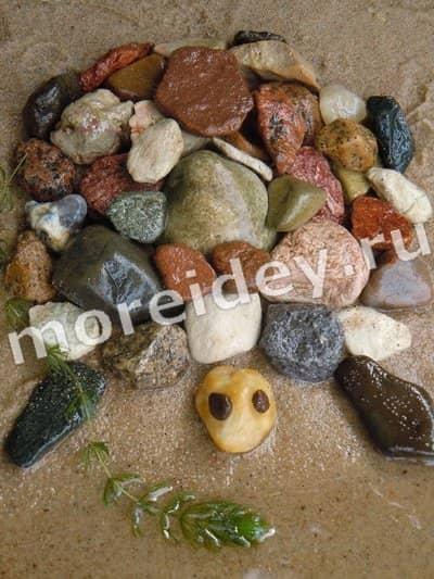 Рисунки из камней