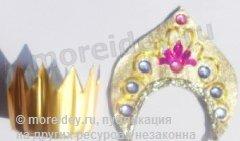 Короны для кукол своими руками из бровового материала