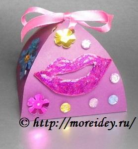 Коробочки для подарка своими руками вместе с детьми, красивая упаковка для подарка своими руками