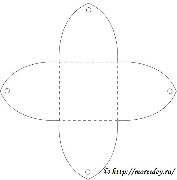 Коробочка из бумаги своими руками шаблоны распечатать 43