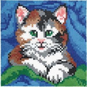 Котенок - картина из термомозаики