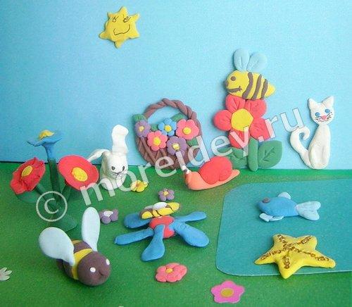 Что можно слепить с детьми из пластилина и массы для лепки