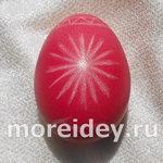 Украшение пасхальных яиц: драпанки