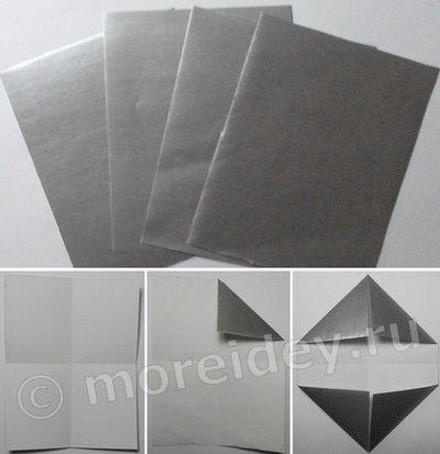 Бумажный фотоаппарат - оригами