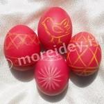 Украшение пасхальных яиц с детьми