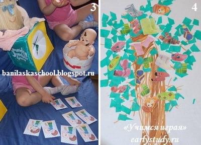 развивающие тематические занятия и поделки по сказкам Чуковского