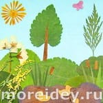 Поделки из гербария своими руками