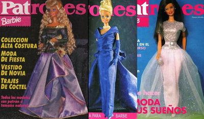 Выкройки одежды для Барби