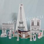 Поделки из бумаги: экскурсия по Парижу