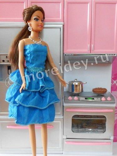 игрушечная еда для кукол - пирог