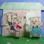 Сказочный картонный театр своими руками