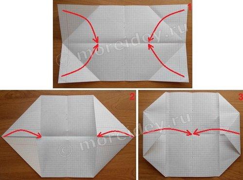Кошелек оригами из бумаги своими руками инстукция