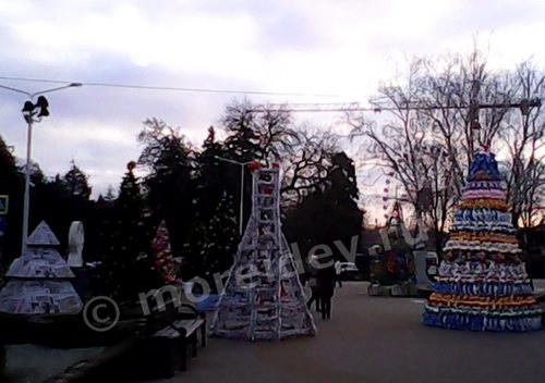 Необычные елки в Краснодаре