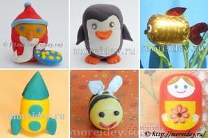 Игрушки из яйца киндер сюрприза своими руками и пластилина
