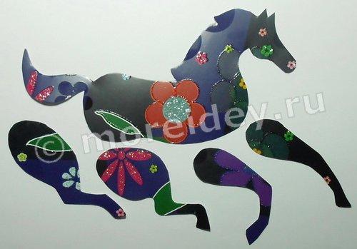 поделка лошадка