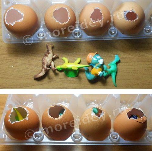 """Как сделать игрушку из льда """"Яйцо динозавра или домашний инкубатор"""" своими руками"""