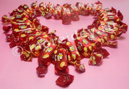 Букет из конфет сердце мастер класс