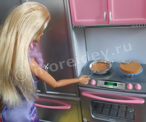 Самодельная игрушечная еда для кукол
