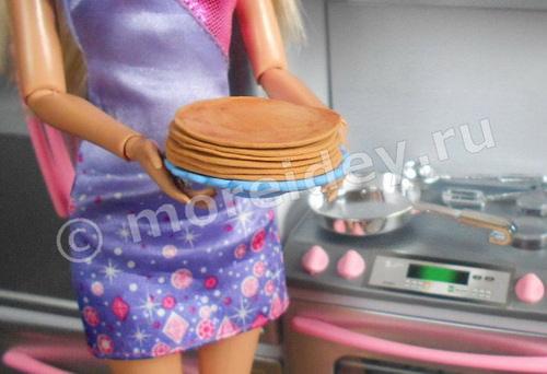 еда для кукол из пластилина или пластики