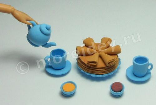 Кукольное чаепитие