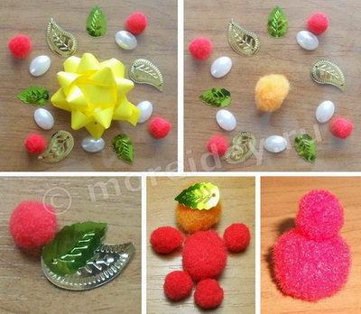 Творческие занятия с детьми: мозаика и фигурки из подручных материалов