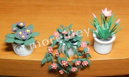 Как сделать цветы для кукол