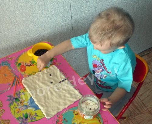 Поделки из семян для детей