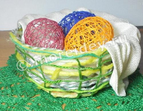 Декоративные яйца к Пасхе своими руками
