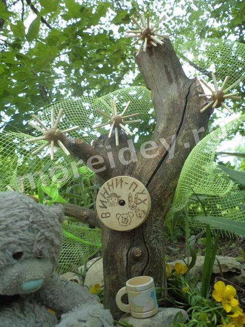 Детские декоративные композиции для садовых участков