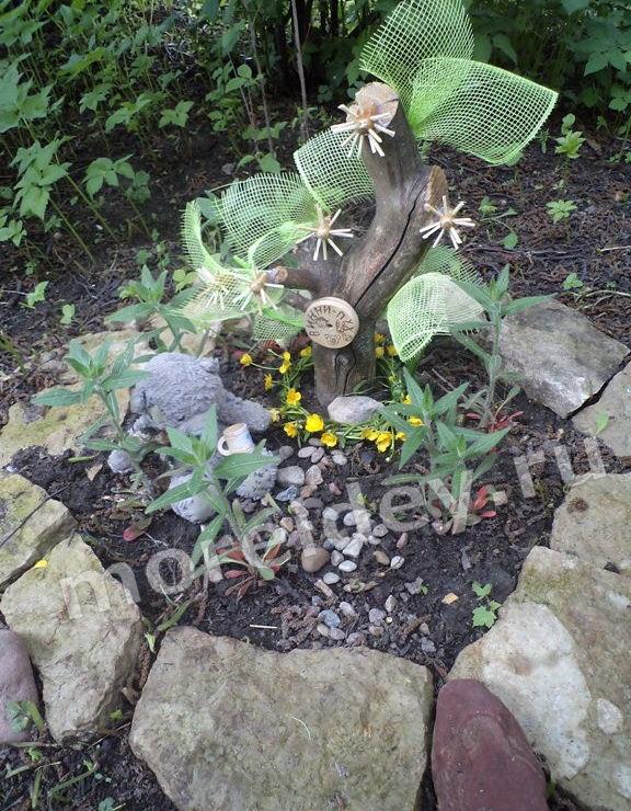 Примеры садовых композиций и садовые композиции своими руками