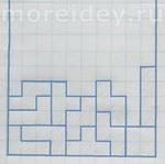 Игры на бумаге: тетрис, 2 варианта