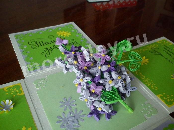 Квиллинг цветы фото мастер класс пошаговый