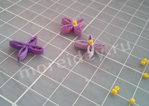 Квиллинг цветы схемы