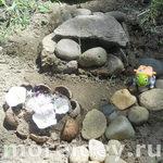 Дом для черепашки - детская садовая композиция