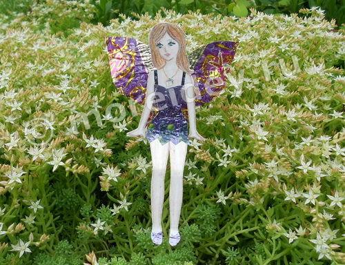 Бумажная кукла - фея