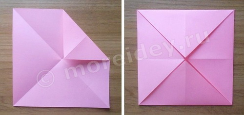 как сделать оригами гадалку