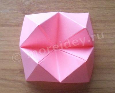 Гадалка для девочек оригами