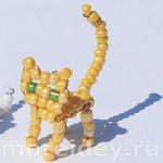 Котенок из бисера