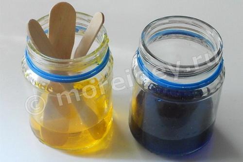 Опыты и эксперименты с цветом, водой и красками
