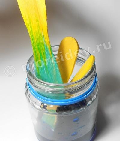 Занимательные эксперименты и опыты: опыт поднимающаяся краска