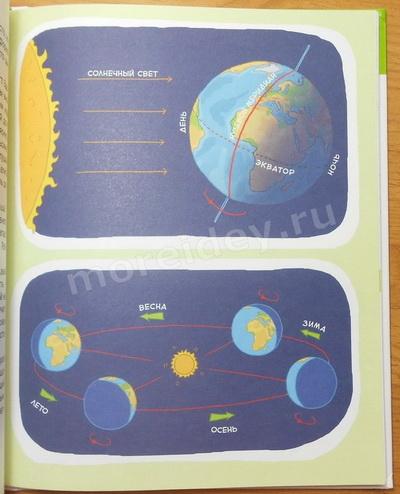 Детские энциклопедии с Чевостиком: планета Земля, смена дня, ночи и времен года