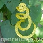 Змейка - бумажная поделка и интересные опыты