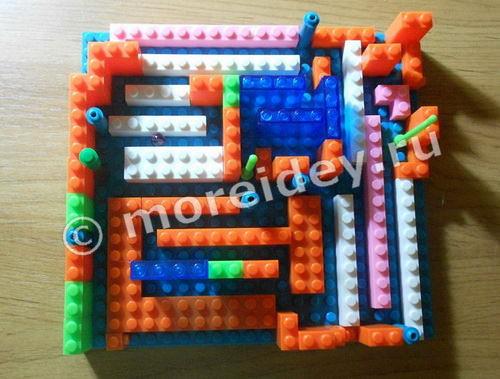 Лабиринт для детей своими руками из конструктора Лего