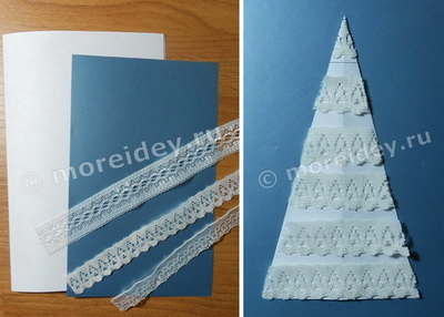 Как сделать новогодние открытки