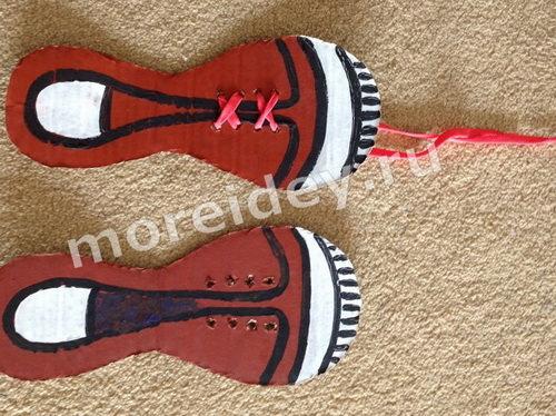 шнуровка для детей своими руками