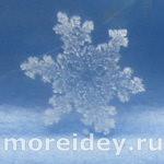 Волшебный снег: настоящие снежинки. Фото
