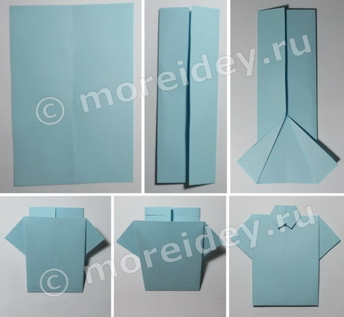 Рубашка-оригами