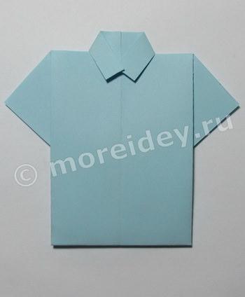 Рубашка-оригами своими руками