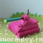 танк из Лего своими руками