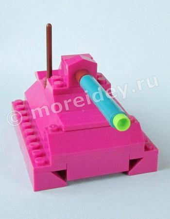 простые модели из Лего своими руками